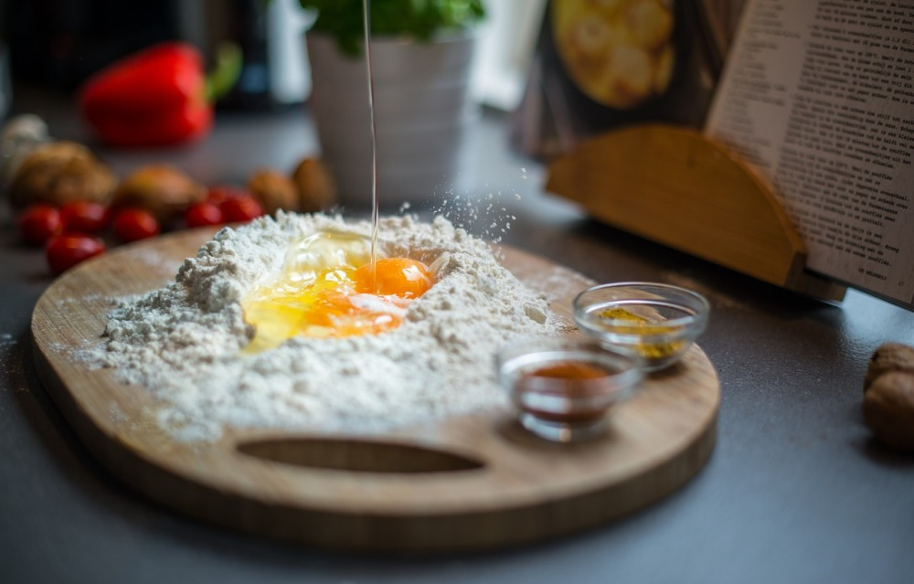 Dough Recipe Egg Food Cooking Kitchen Breaking